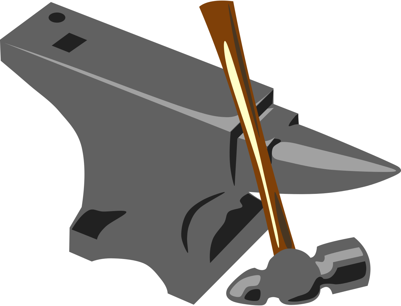 Anvil clipart transparent. File blacksmith hammer svg
