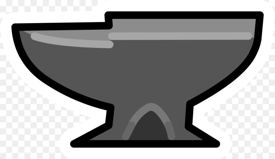 Club penguin blacksmith clip. Anvil clipart transparent