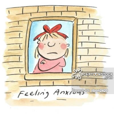 Cartoons and comics funny. Anxiety clipart agoraphobia