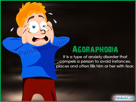 Symptoms and treatment steps. Anxiety clipart agoraphobia