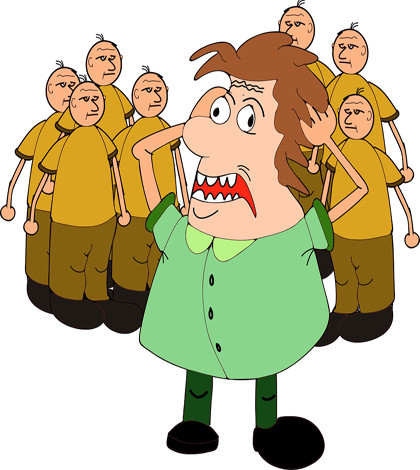 Anxiety clipart agoraphobia. Two major ways of
