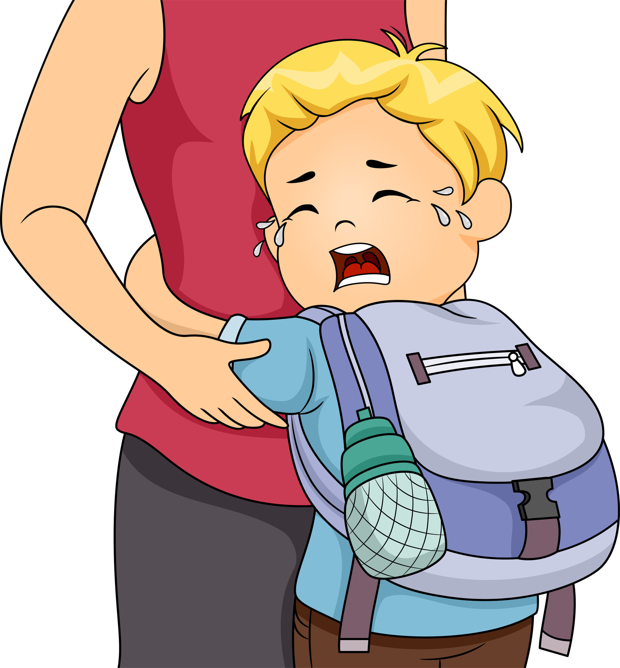 School in children on. Anxiety clipart anxiety disorder