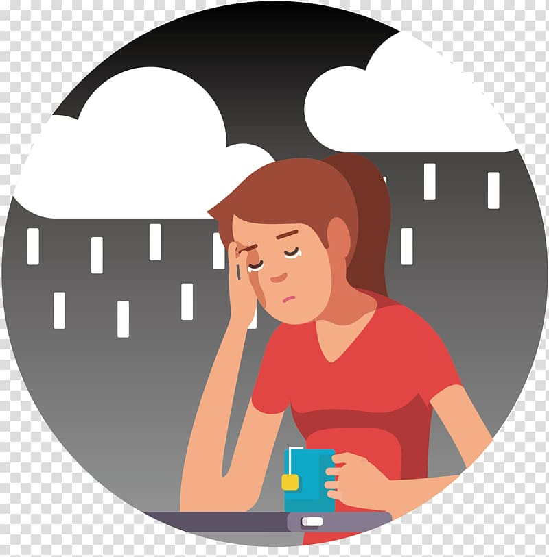 Anxiety clipart anxiety disorder. Depression panic symptom social