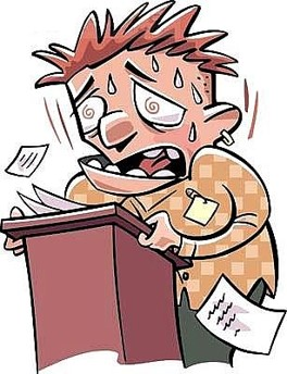 Anxiety clipart apprehension.  communication module page