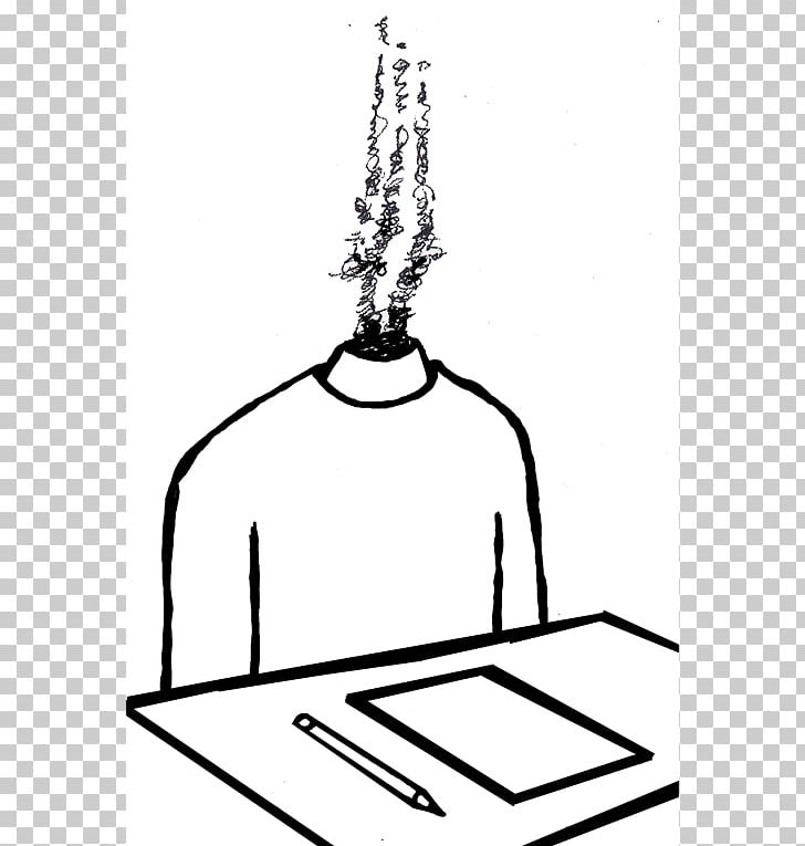 Test png disorder area. Anxiety clipart black and white