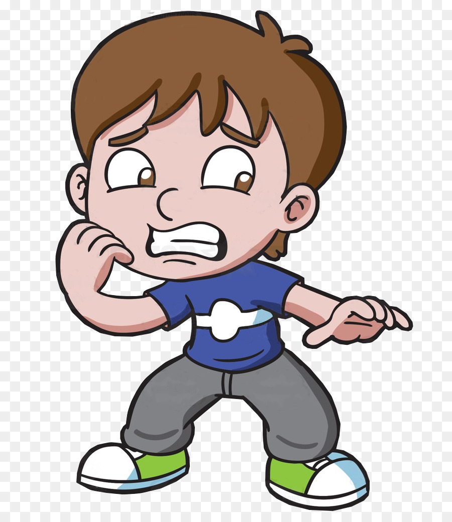 Anxiety clipart boy. Fear clip art cartoon