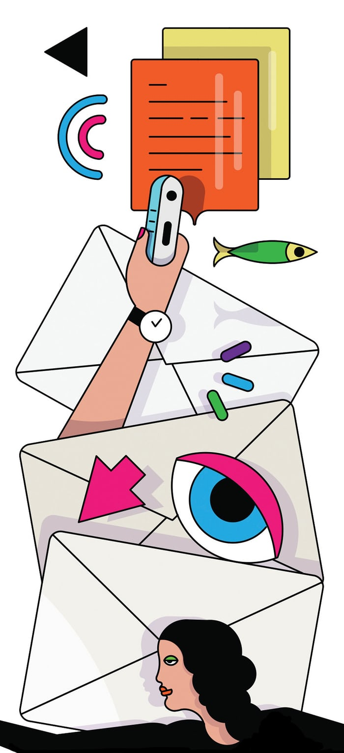 Anxiety clipart cacophony. Unanswered emails were the