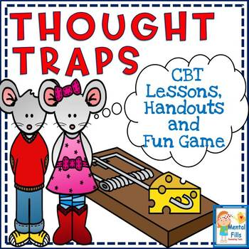 Thought traps cognitive behavioral. Worry clipart behavior therapy