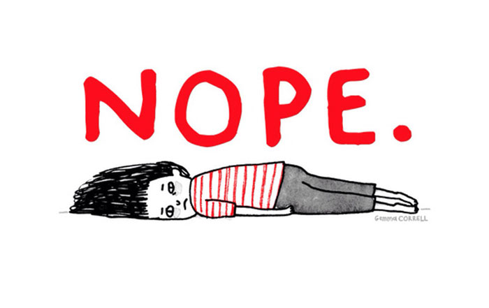 Anxiety clipart depression. Gemma correll s illustrations