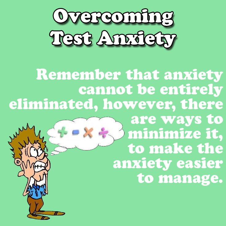 best overcoming test. Anxiety clipart dont panic