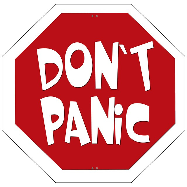 . Anxiety clipart dont panic