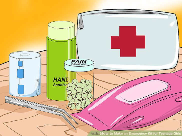 How to make an. Anxiety clipart emergency supply