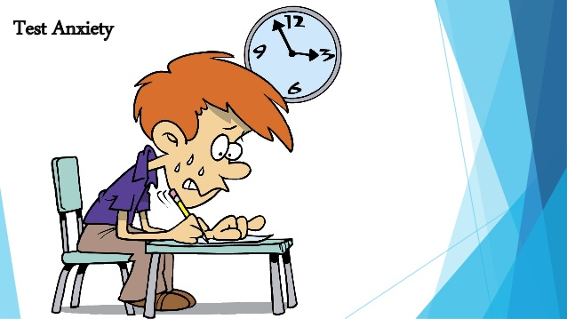 Management anxiety solutions . Test clipart test time