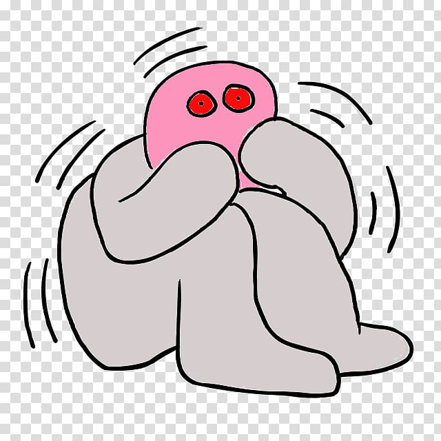 Fear anxiety phobia worry. Emergency clipart panic attack
