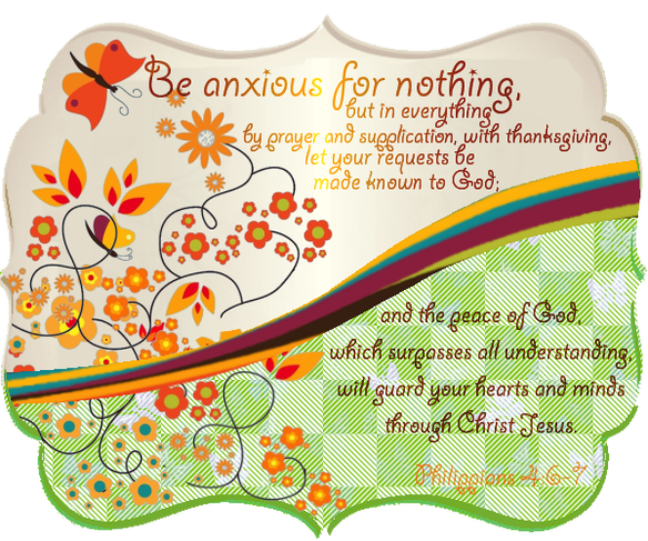 Do not worry or. Anxiety clipart fretful
