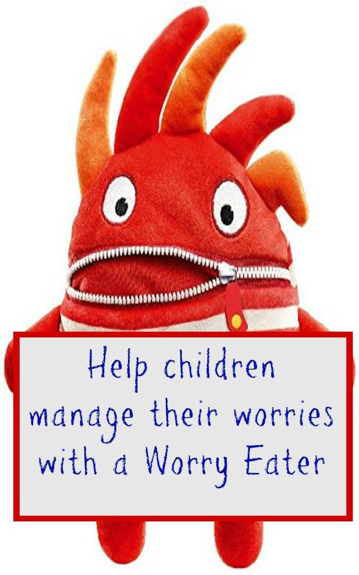Worry eaters child parents. Anxiety clipart fretful