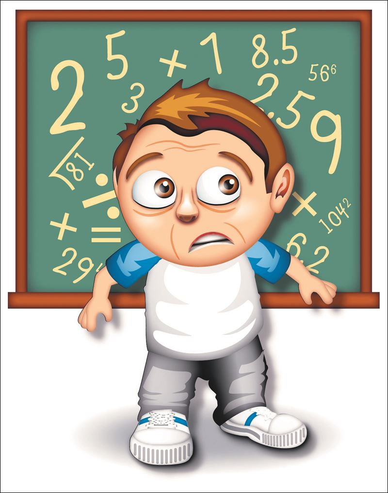 Anxiety clipart math anxiety. Do you suffer from