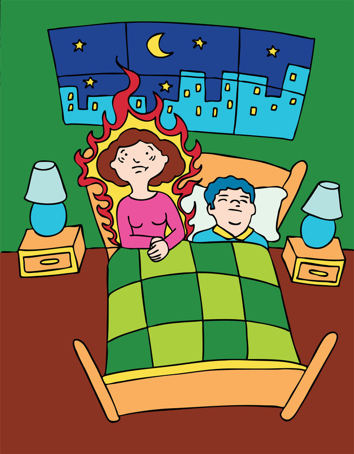 Don t believe these. Anxiety clipart menopause