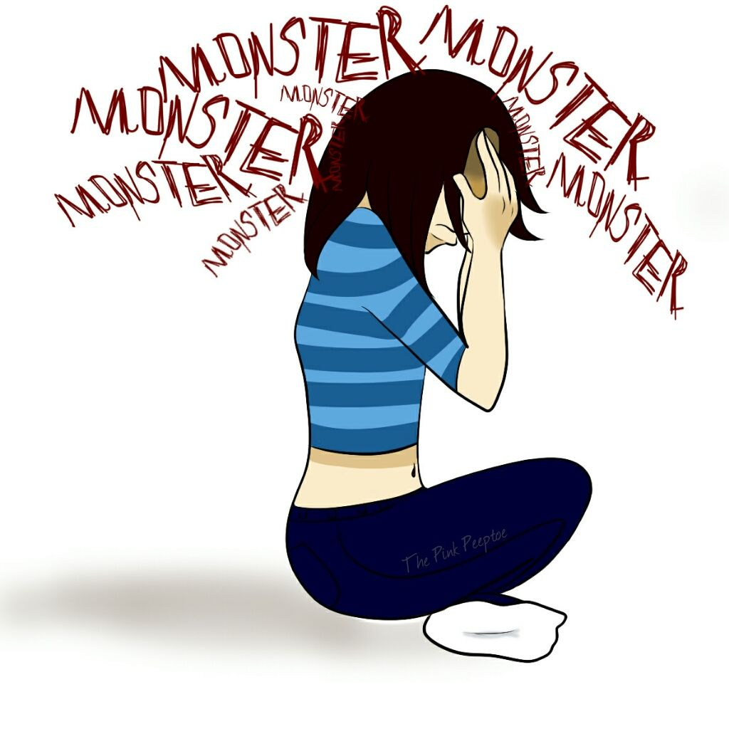 Anxiety clipart ocd symptom. Intrusive thoughts are at