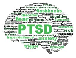 Post traumatic stress disorder. Anxiety clipart ptsd