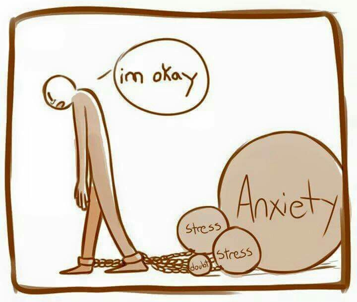 How to avoid mental. Anxiety clipart ptsd