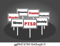 Anxiety clipart ptsd. Stock illustration social disorder