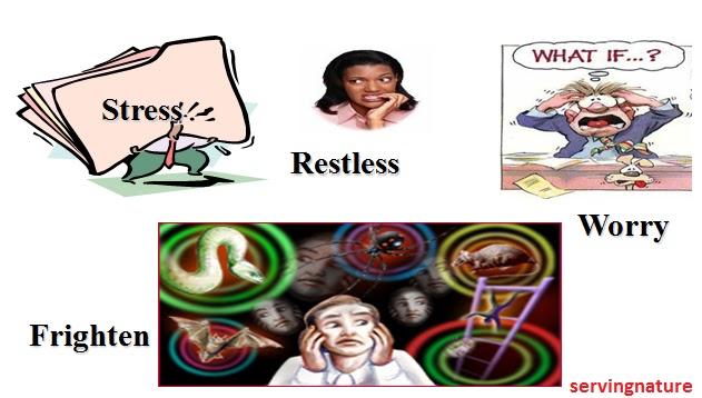 Healthy body mind anti. Anxiety clipart restlessness