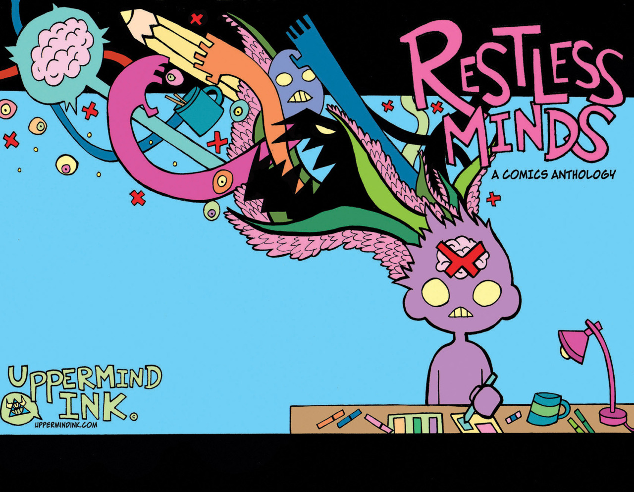 Anxiety clipart restlessness. Uppermind ink restless minds