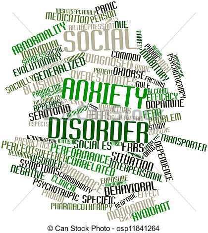 Anxiety clipart social anxiety. Disorder panda free images