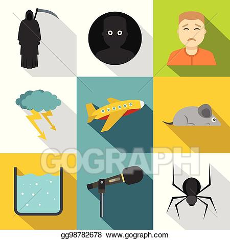 Anxiety clipart stress. Vector art and icon
