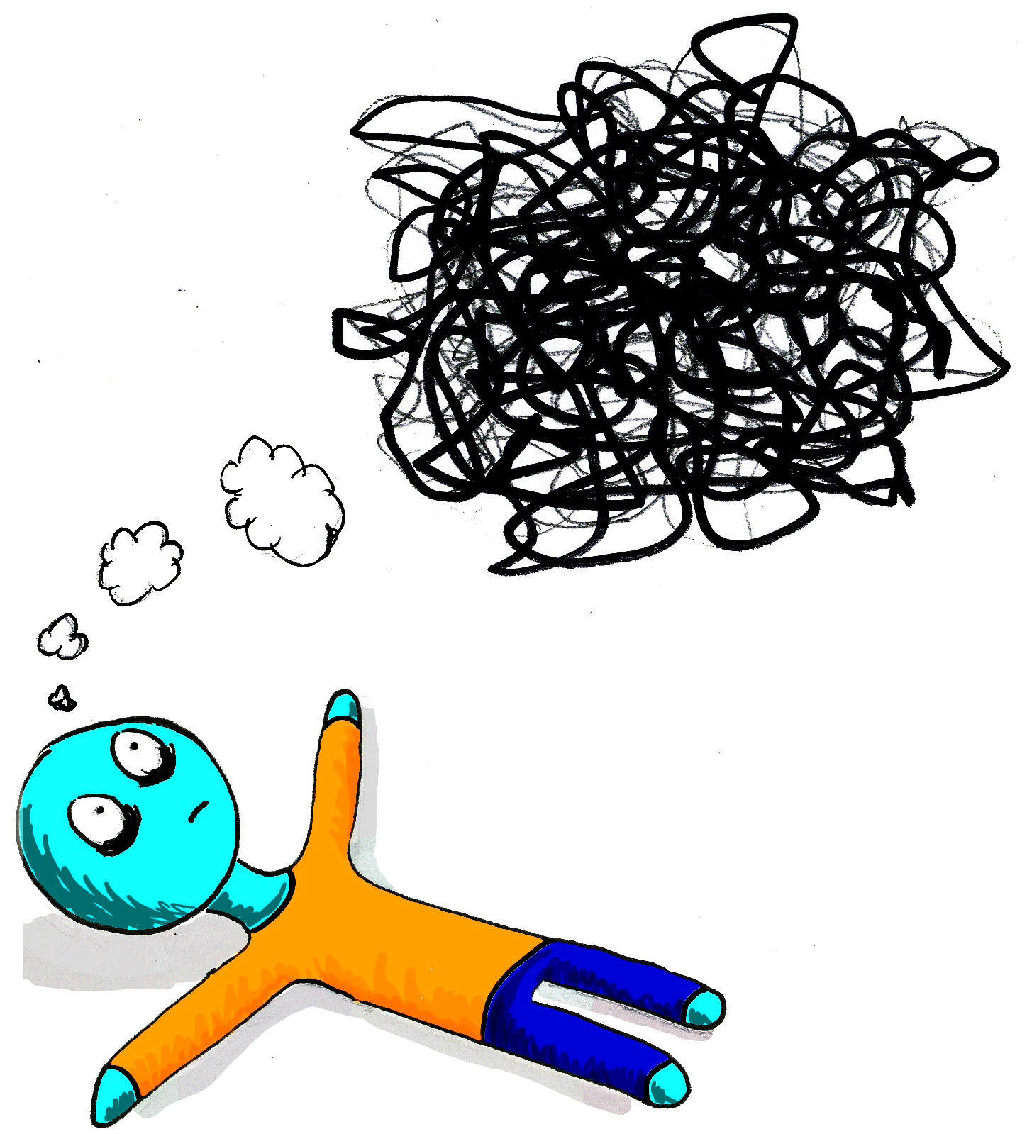 Talking mental versus the. Anxiety clipart stress health