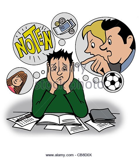 Effect of habits on. Anxiety clipart study habit
