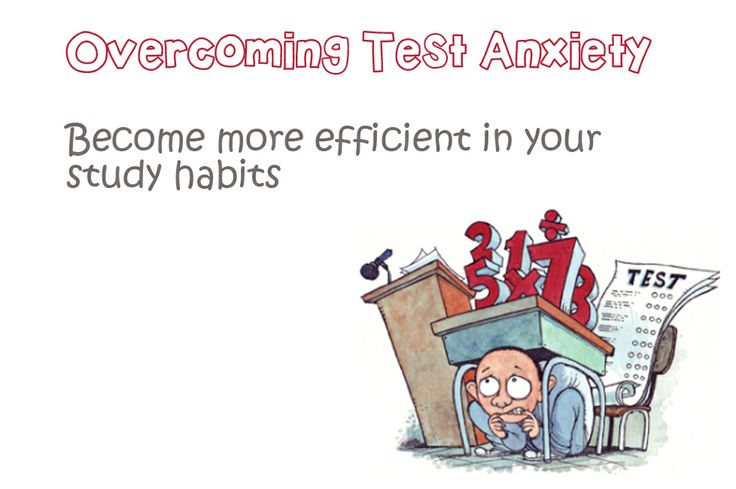 best exam test. Anxiety clipart study habit