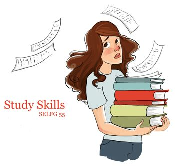 Anxiety clipart study habit. Skills selfg master your