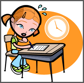 Anxiety clipart test. How can students manage