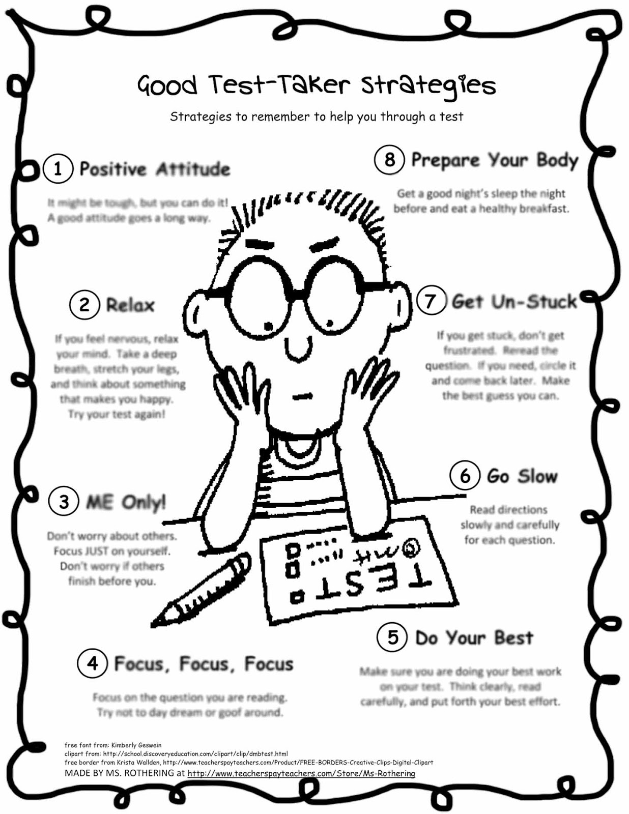 Influence invest inspire the. Anxiety clipart test