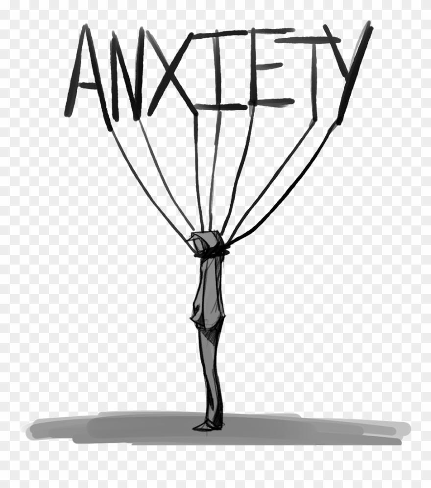 Anxious anxietyattack sad stress. Anxiety clipart transparent