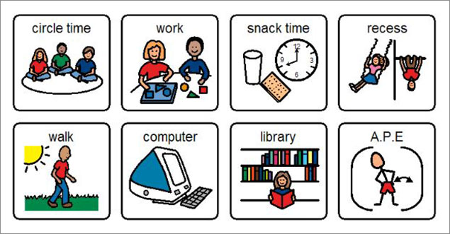 Supports for students with. Anxiety clipart visual