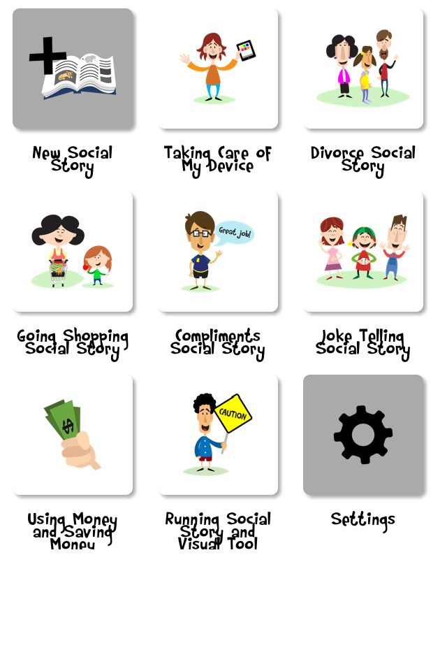 best social stories. Anxiety clipart visual