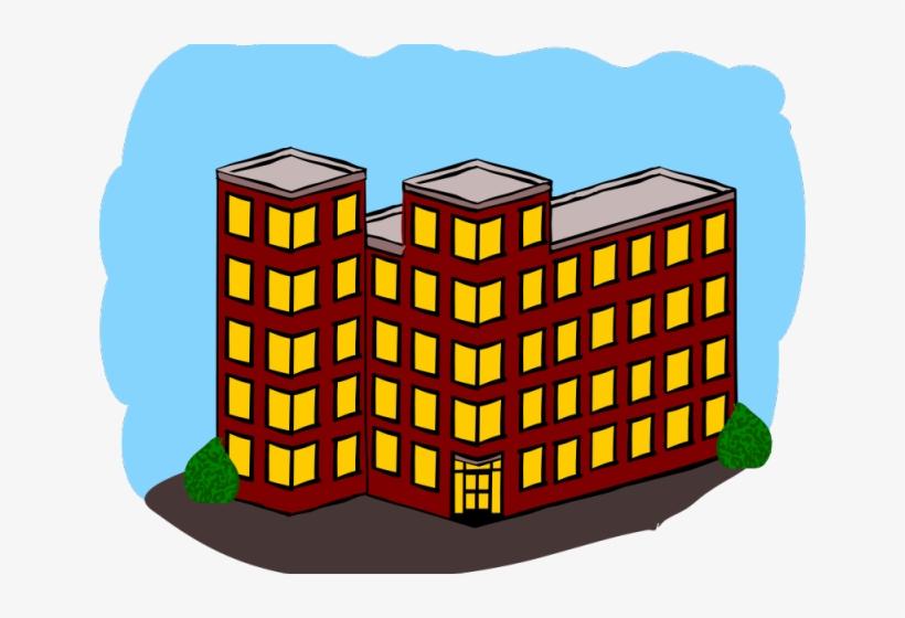 Apartment clipart. Building transparent
