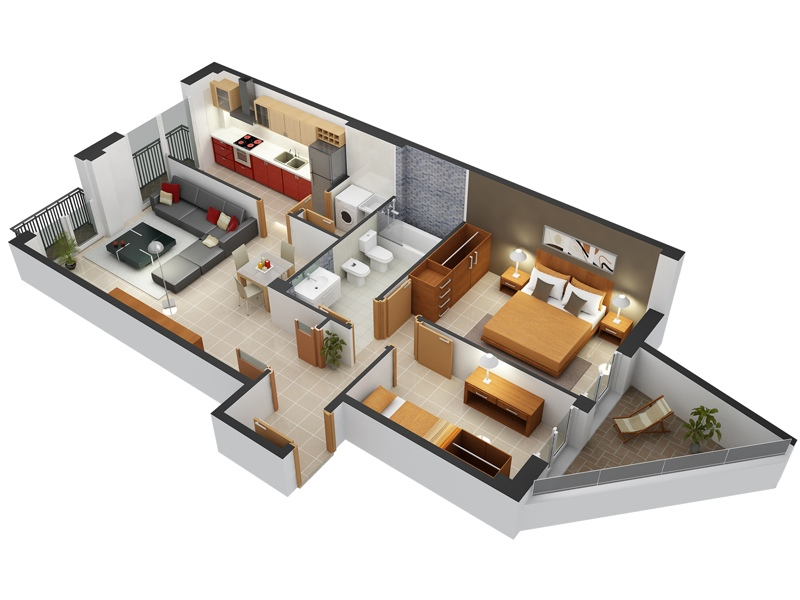 bedroom plans. Apartment clipart 2 house