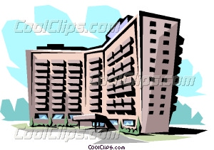 Building clip art latest. Apartment clipart apartment complex