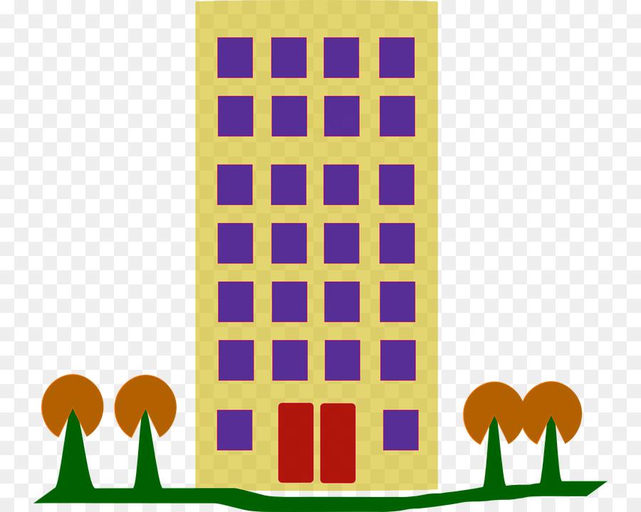 Apartment clipart apartment house. Building clip art png