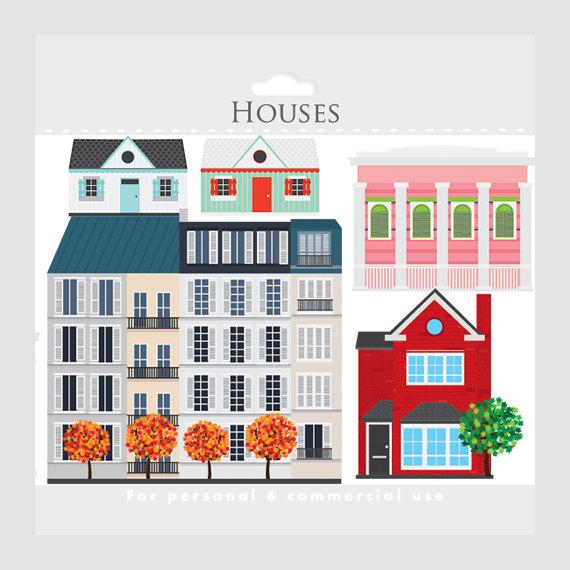 Houses clip art buildings. Apartment clipart apartment house