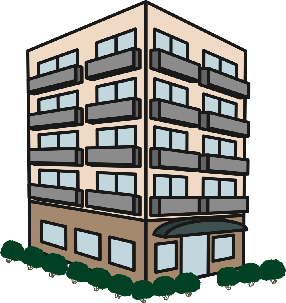 Charleston legal access buildingpng. Apartment clipart apartment housing