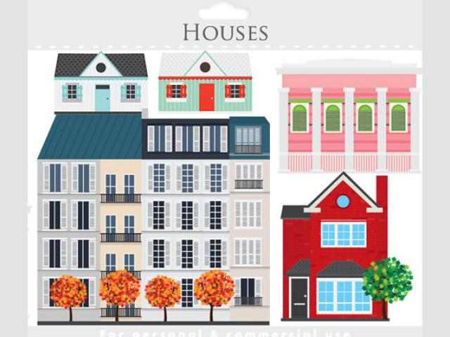 Apartment clipart apartment housing. Complex buidling free on