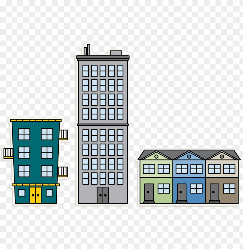 Apartment clipart appartment. Building png download transparent