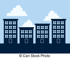 Apartment clipart apt. Building illustrations and clipa