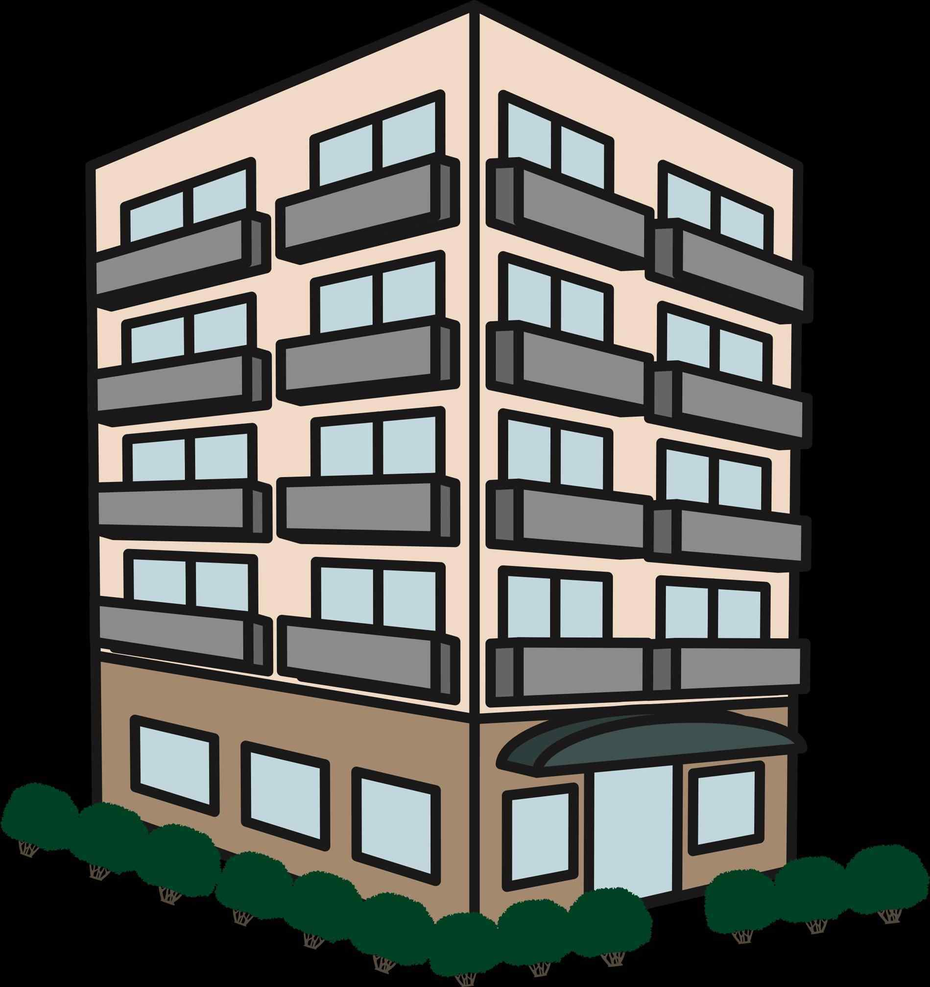 Apartment clipart apt. Apartments athelred com house