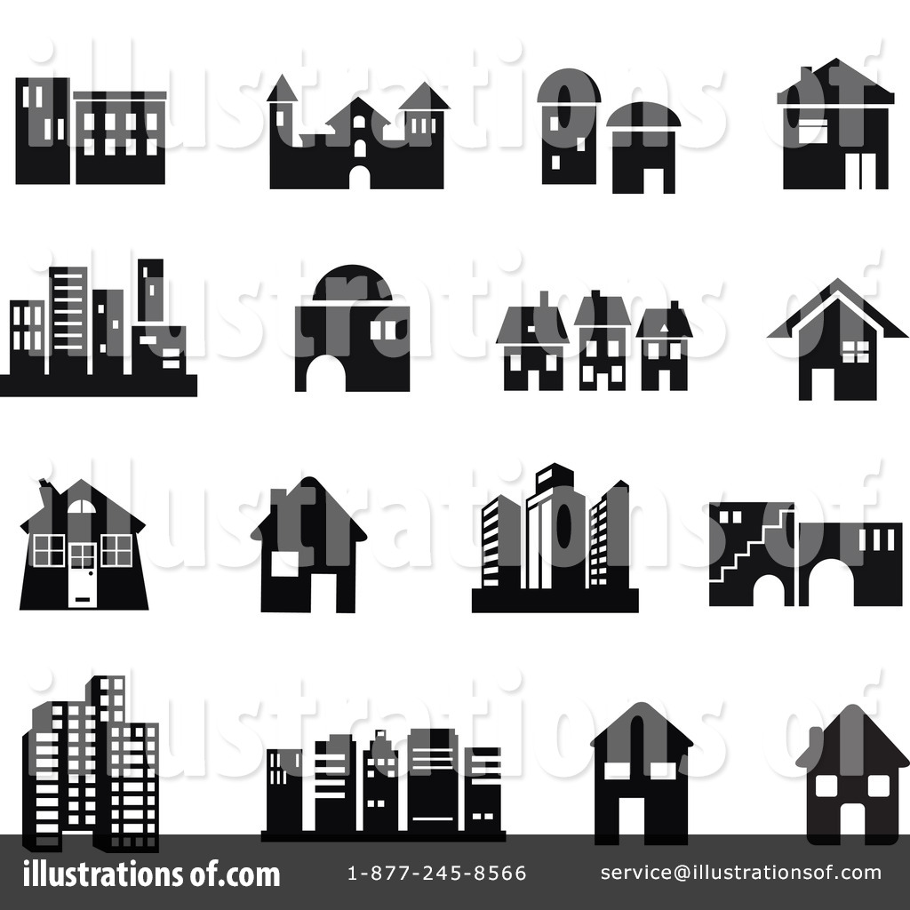 Apartment clipart black and white. Home sweet february building